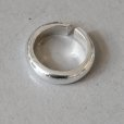 画像2: SILVER925 PLUMP RING 6mm (2)