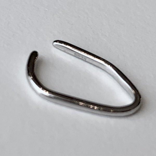 画像2: SILVER925 MINIMAL LINE EAR CUFF/SILVER