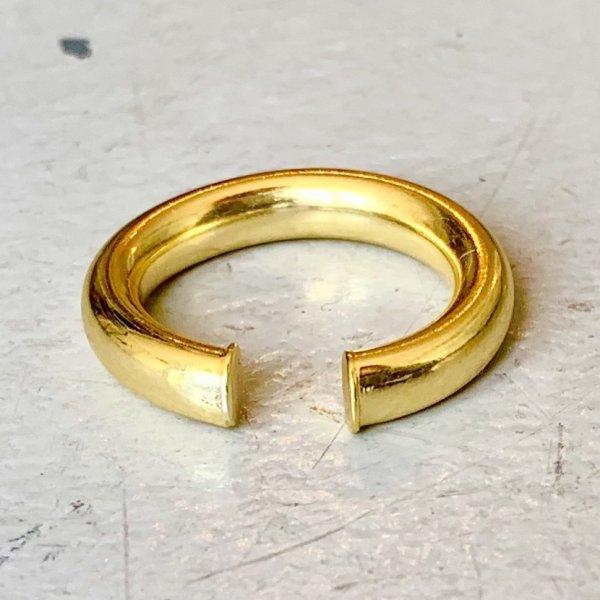 画像3: SILVER925 CIRCLE RING EAR CUFF/GOLD