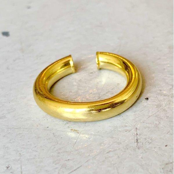 画像2: SILVER925 CIRCLE RING EAR CUFF/GOLD