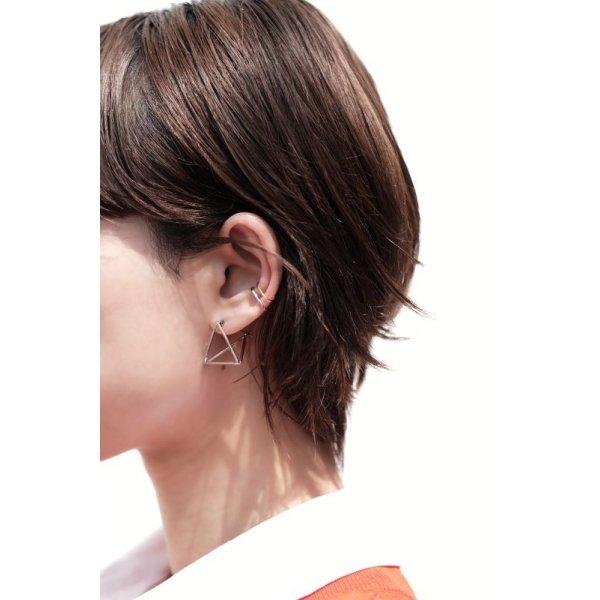 画像4: SILVER925 MINIMAL LINE EAR CUFF/SILVER