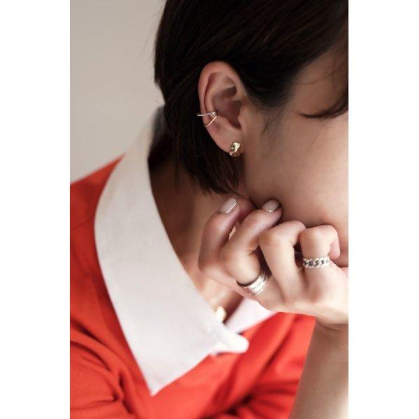 画像3: SILVER925 MINIMAL LINE EAR CUFF/SILVER