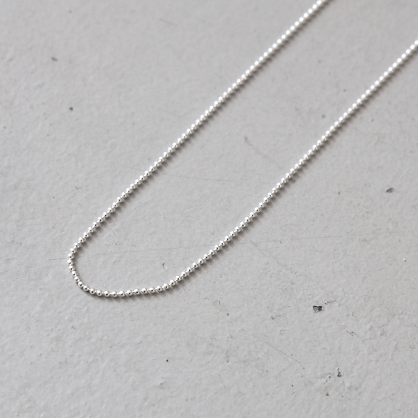 1165 Vintage neo silver box chain with knotted join leaving a drop of 4.5\u201d With  FREE WORLDWIDE SHIPPING